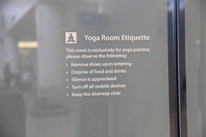 SFO Yoga Room